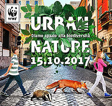 urban nature, banner, hp  	© wwf italia
