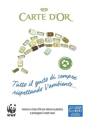 Carte d'Or e WWF insieme per i nostri mari  	© Carte d'Or