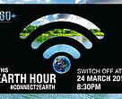 earth hour 2018, banner