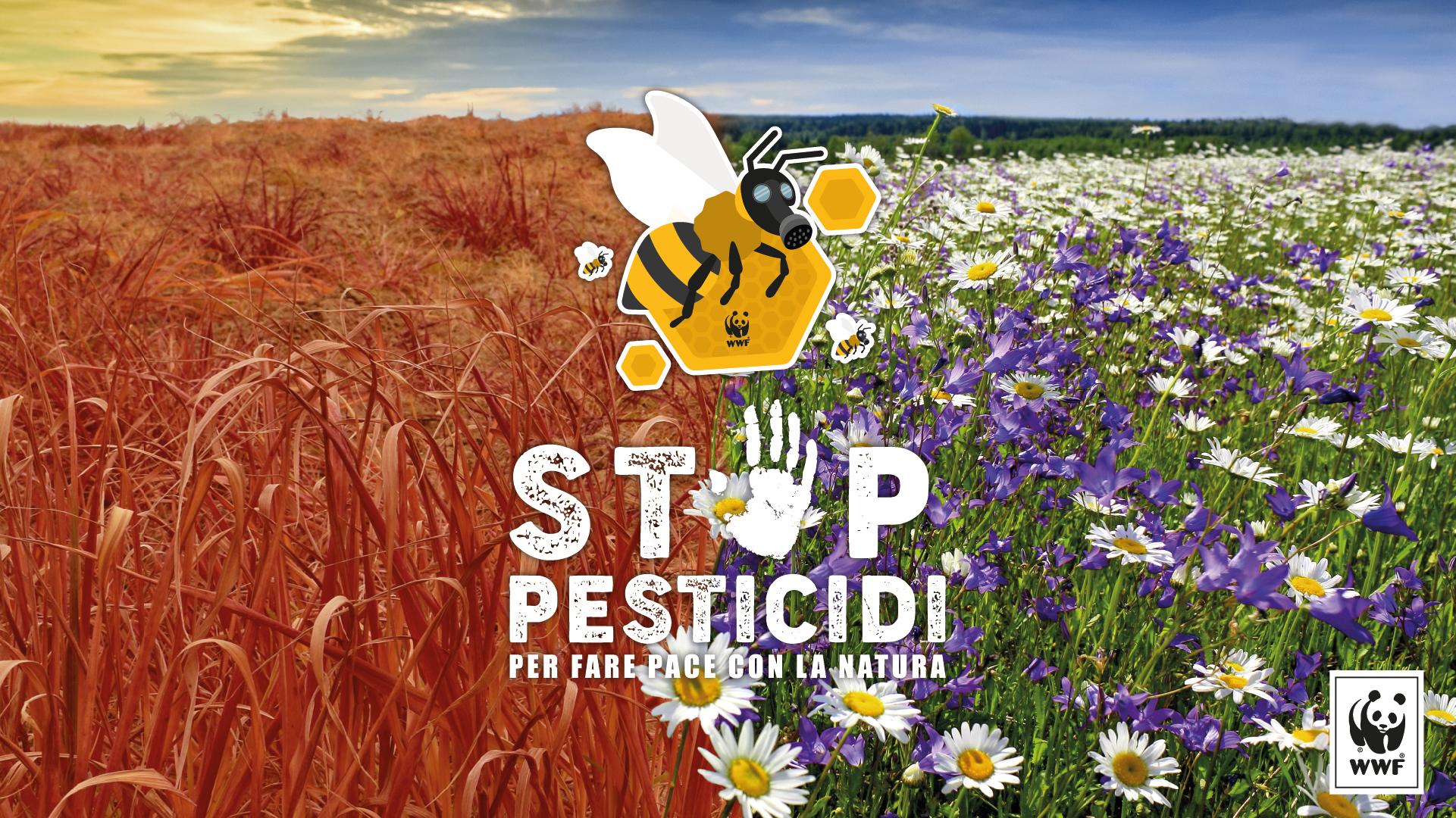 Risultati immagini per STOP PESTICIDI wwf